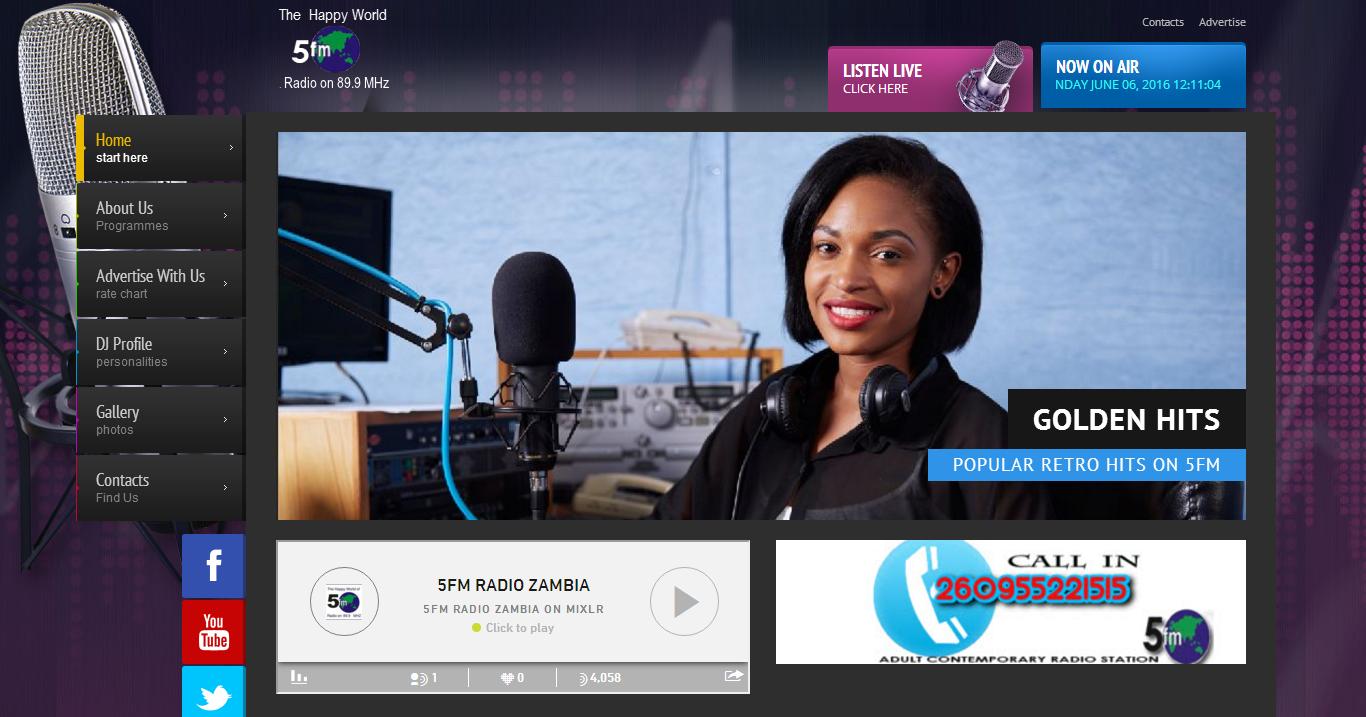 .5FM Radio.